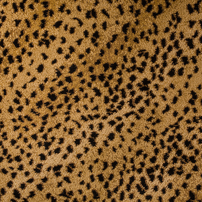 Out of Africa Woven Animal Print Custom Rug - Badger