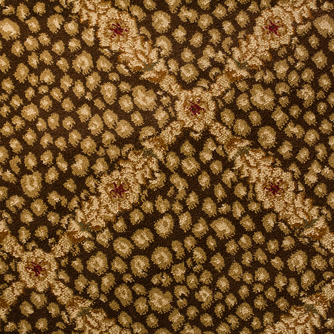 Sahara Skins Woven Animal Print Custom Rug - Brown/Beige Bagira