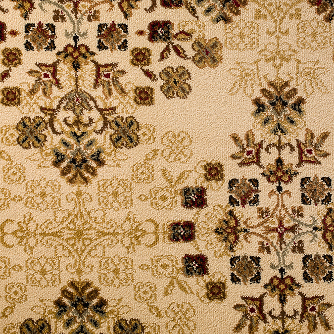 Windsor Woven Custom Rug - Creme/Brown Chelsea