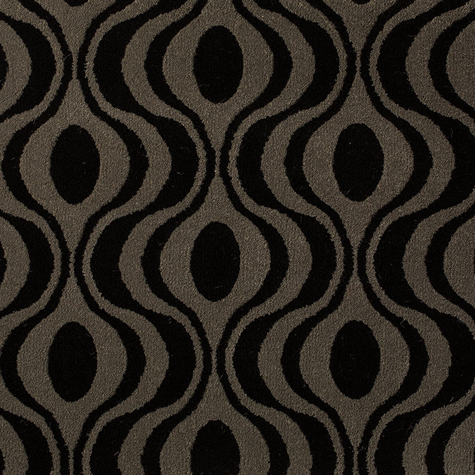Rock N Roll Woven Custom Rug - Black/Grey Chiefly
