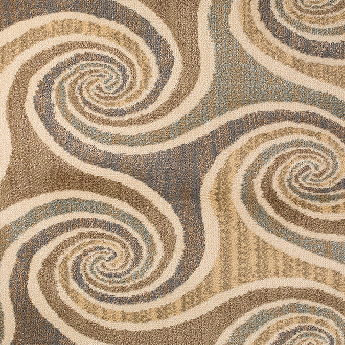 Sand Dunes Woven Custom Rug - Light Green/Beige Multi Citadel
