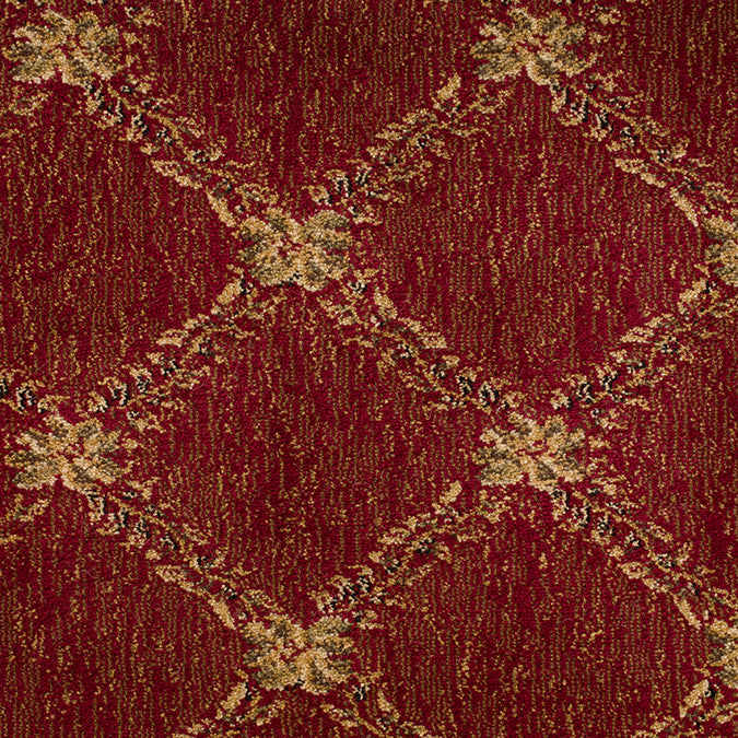 Endurance Woven Custom Rug- Red/Tan  Curry