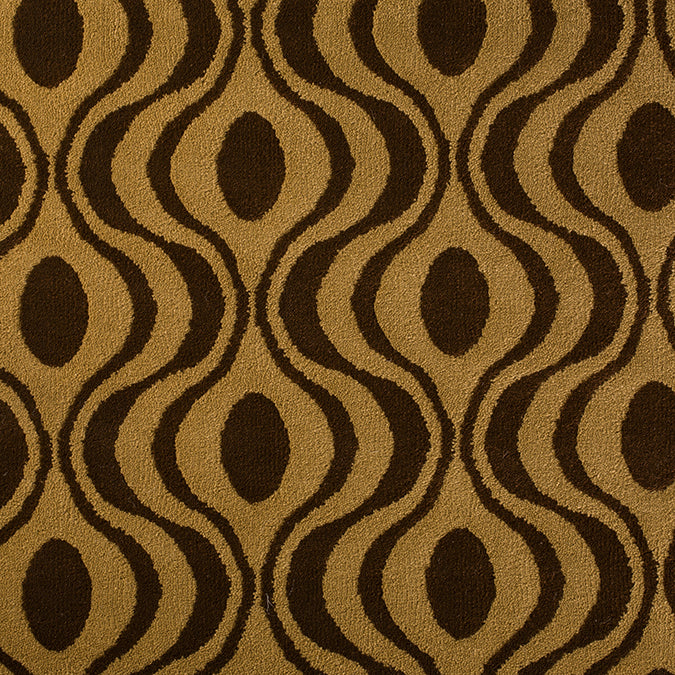 Rock N Roll Woven Custom Rug - Tan/Brown Gala