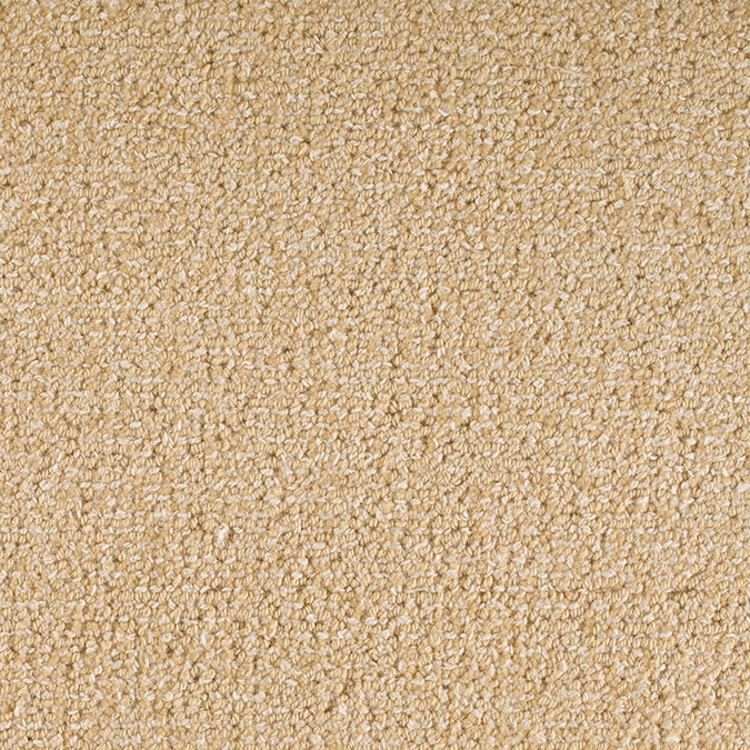 Staples Woven 100% Wool Custom Rug - Cream Butternut