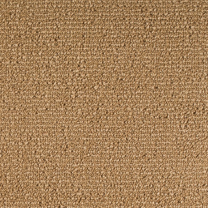Staples Woven 100% Wool Custom Rug - Toffee