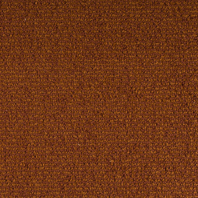 Staples Woven 100% Wool Custom Rug -  Sienna