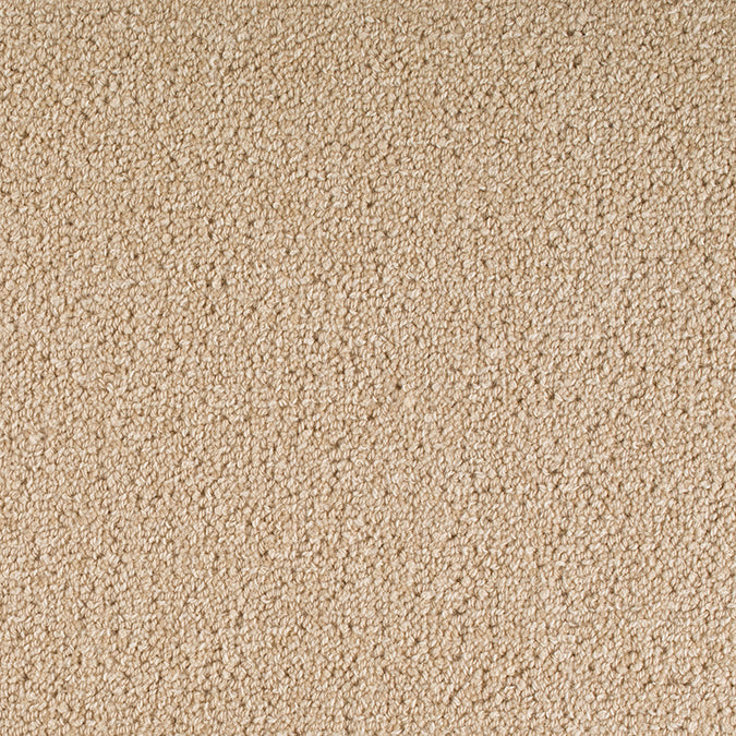 Staples Woven 100% Wool Custom Rug - Beige Parchment