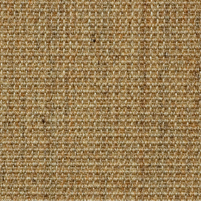 Fibreworks® Custom  100% Sisal Rug with Matching Serged Border or Other Border Options - Mayan Riviera Jumbo Boucle 781