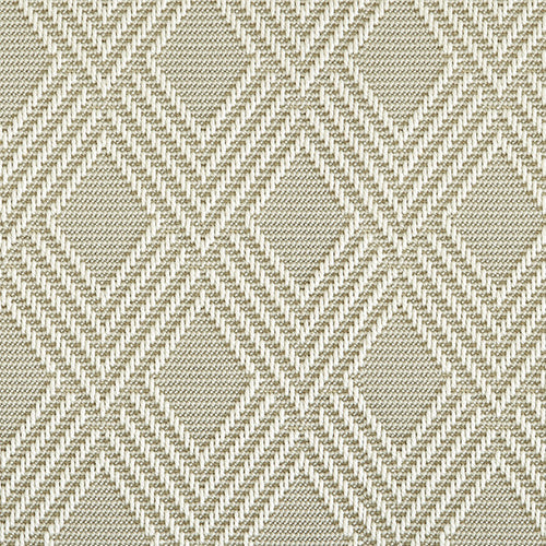 High-Performance All Weather Indoor/Outdoor Custom Rug with UV Resistant Standard Edge Finish - Maracanda Champagne