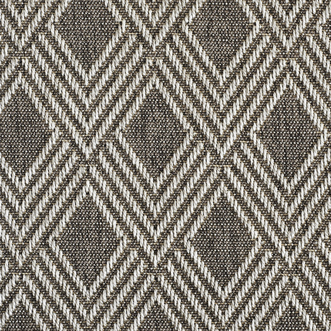 High-Performance All Weather Indoor/Outdoor Custom Rug with UV Resistant Standard Edge Finish - Maracanda Sea Gray