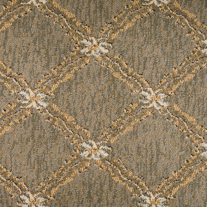 Endurance Custom  Woven Rug - Green/Tan Oasis