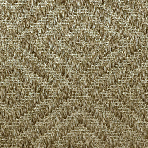 Fibreworks® Custom 100% Sisal Rug with Matching Serged Border or Other Border Options - Bakari Oat Straw 479
