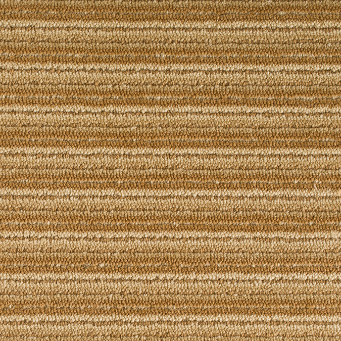 Linear Wool Woven Custom Rug - Gold/Beige Multi Quartz