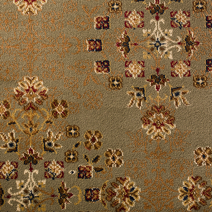 Windsor Woven Custom Rug - Light Green/Beige Royal Park