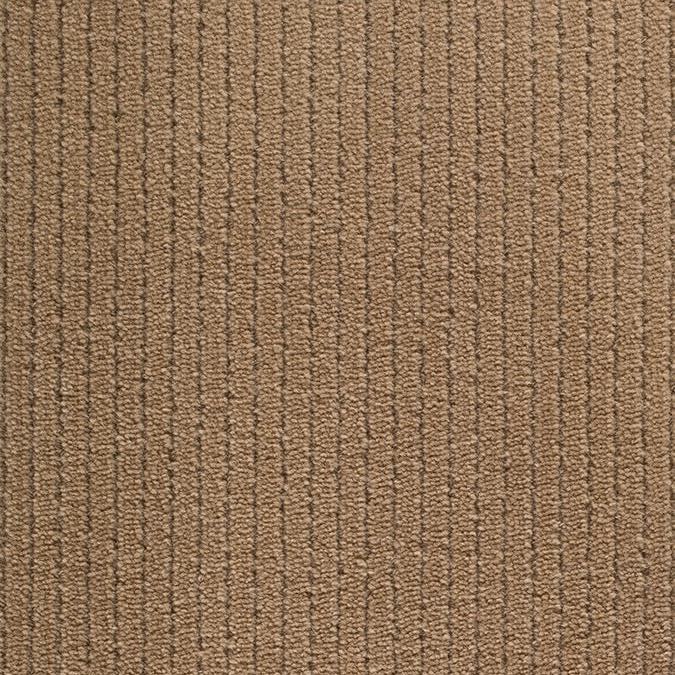 Sequel Woven Wool Custom Rug - Tan Cashmere