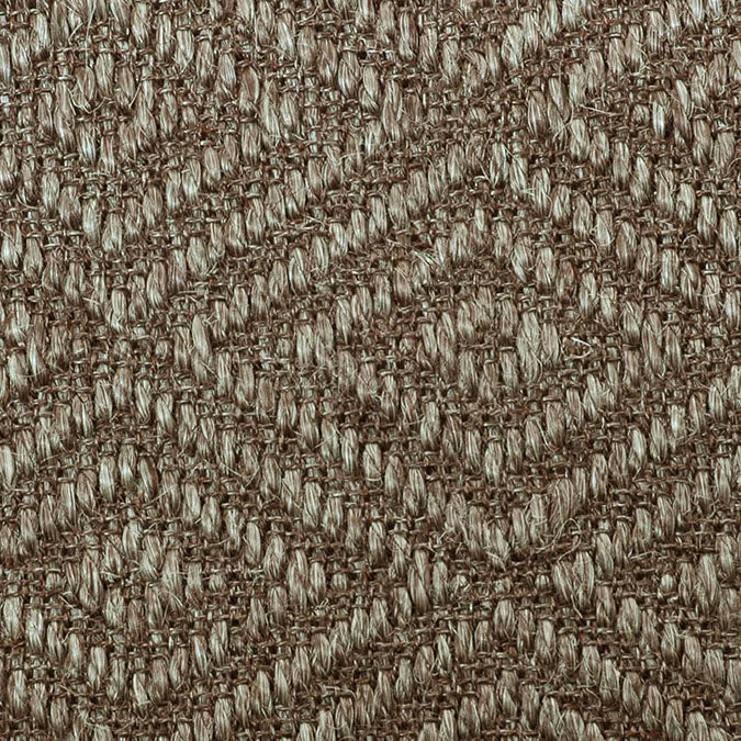 Fibreworks® Custom 100% Sisal Rug with Matching Serged Border or Other Border Options - Bakari Silvered Gray 473A