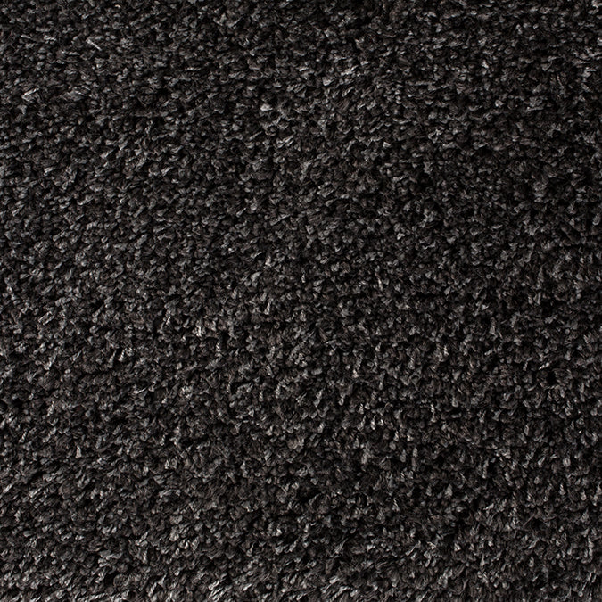 The Right Mix Woven Custom Shag Rug - Dark Grey Spartan
