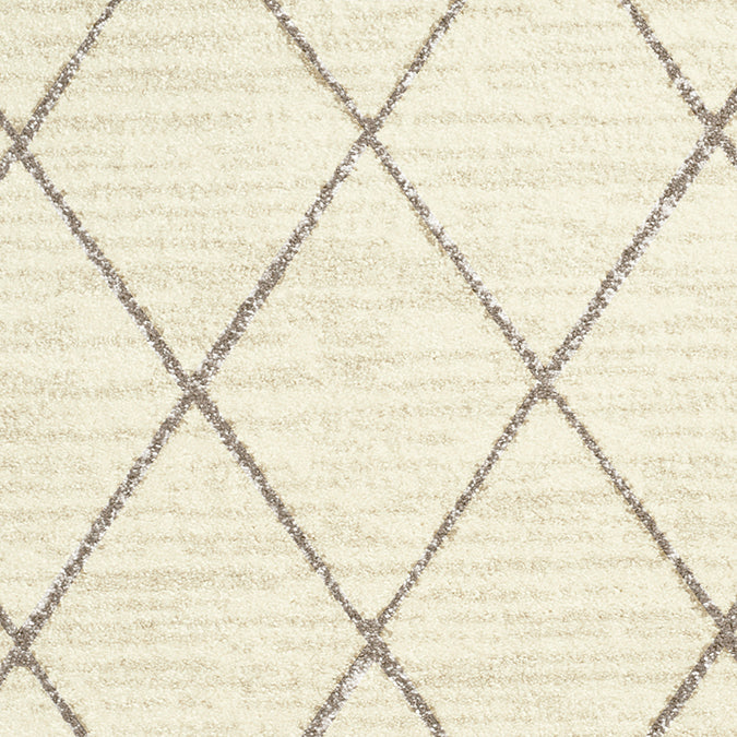 Kenza Woven Custom Rug - Cream/Taupe Bisque