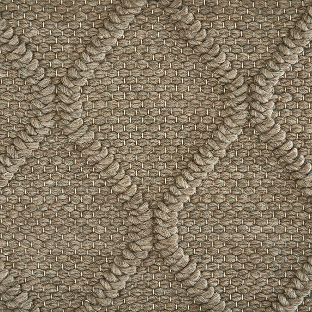 St Andrews Hand-Loomed Wool Blend Custom Rug - Mushroom