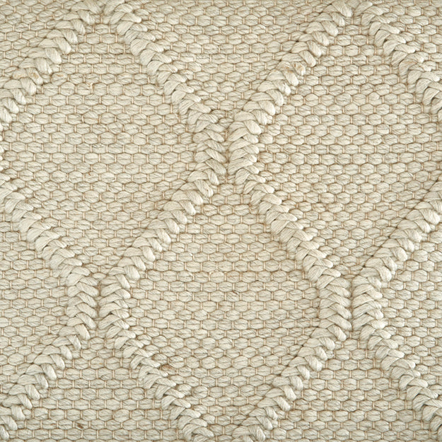 St Andrews Hand-Loomed Wool Blend Custom Rug - Sand