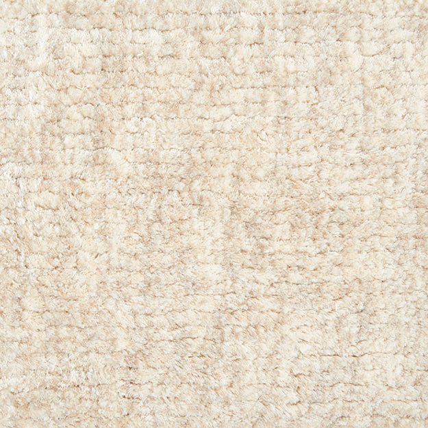 Supreme Seduction Hand-Loomed Wool Blend Custom Rug - Pearl