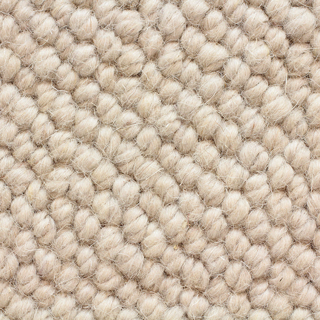 Jaipur King 100% Wool Hand-Loomed Custom Rug - Cloud Burst