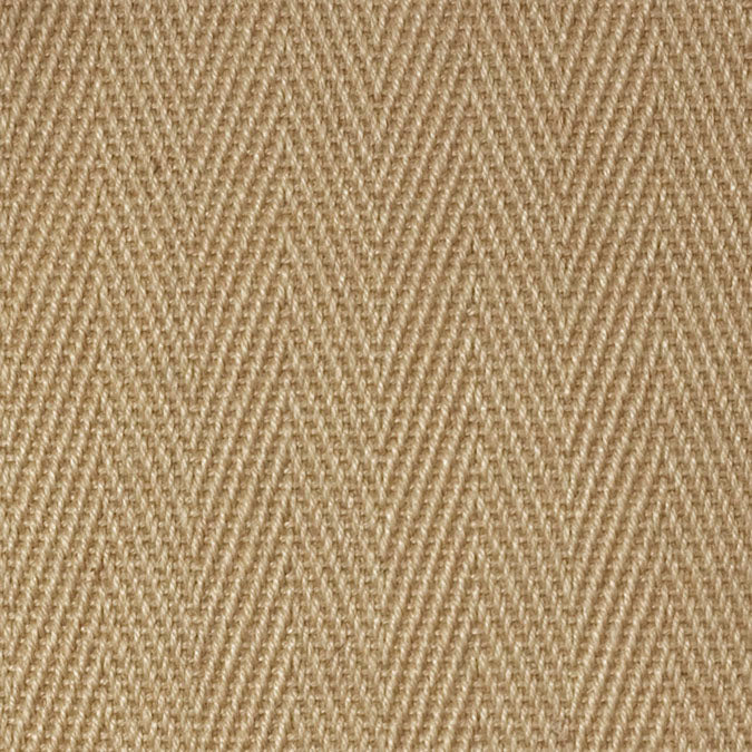 Fibreworks® Custom 100% Jute Rug with Matching Serged Border or Other Border Options -Chevron
