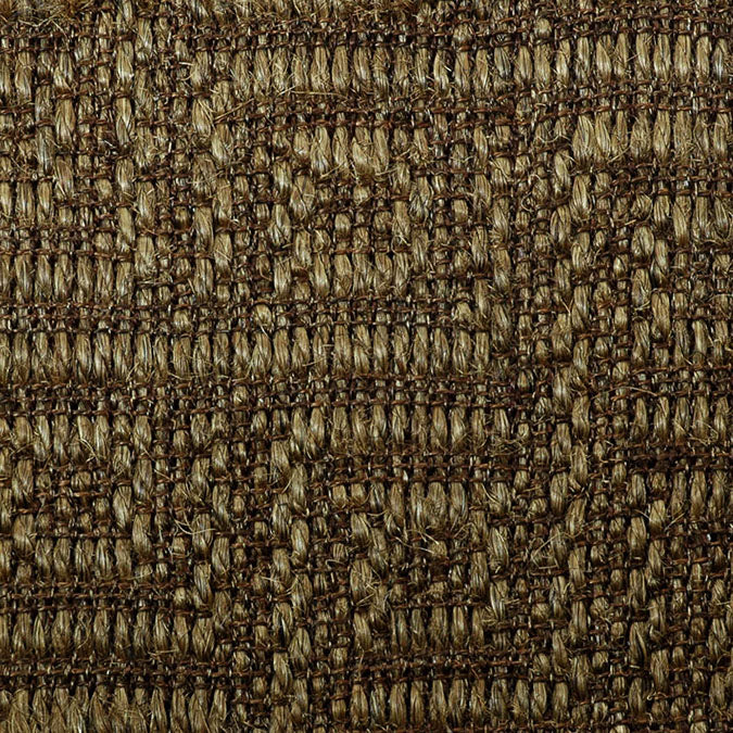 Fibreworks® Custom  100% Sisal Rug with Matching Serged Border or Other Border Options - Studio Key Aged Bronze 4635