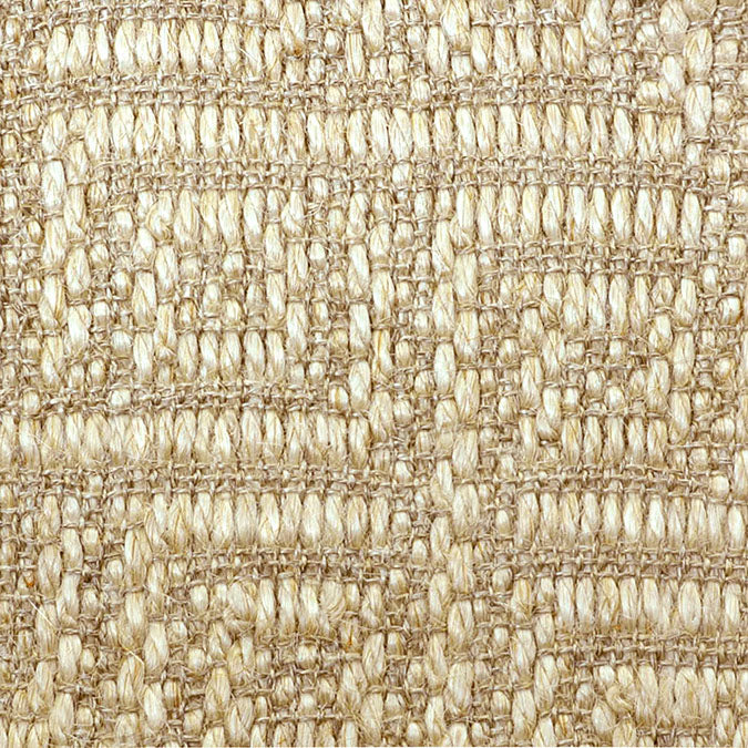 Fibreworks® Custom  100% Sisal Rug with Matching Serged Border or Other Border Options - Studio Key Canvas 4630