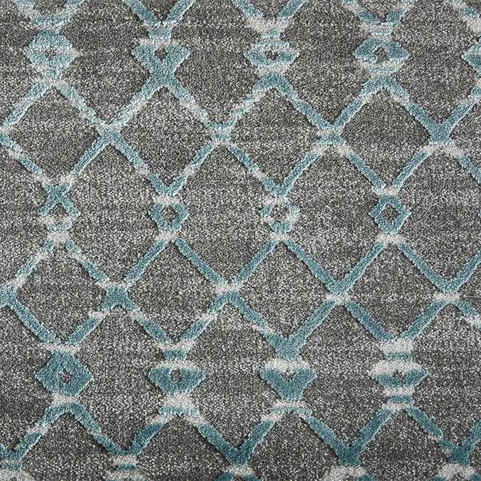 Centered Woven Custom Rug - Spa