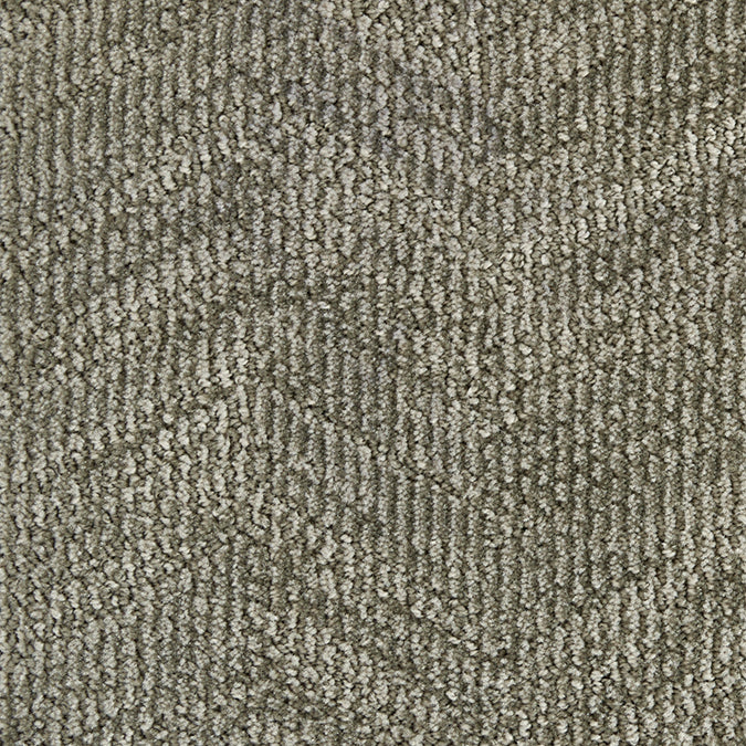 Circuit Tufted Custom Rug - Pewter