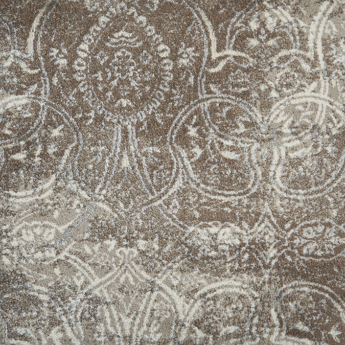 Edgewater Woven Custom Rug - Taupe Antique