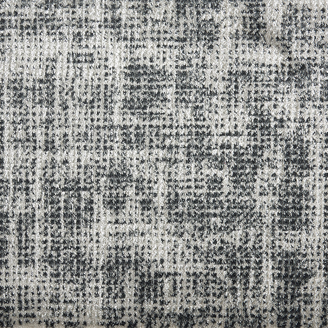 Flare Woven Custom Rug - Grey Coal