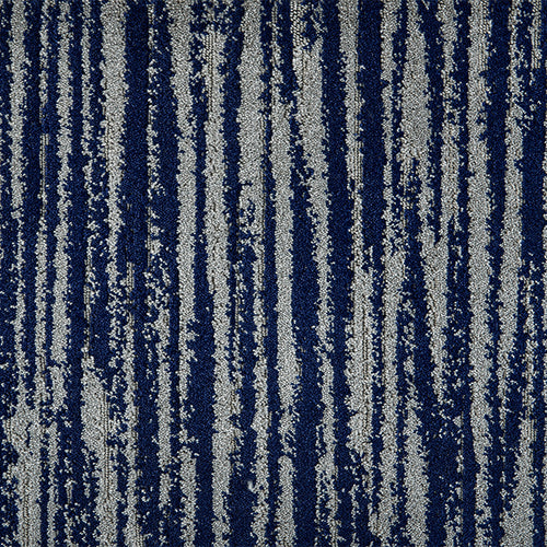 Frequency Woven Custom Rug -Marine