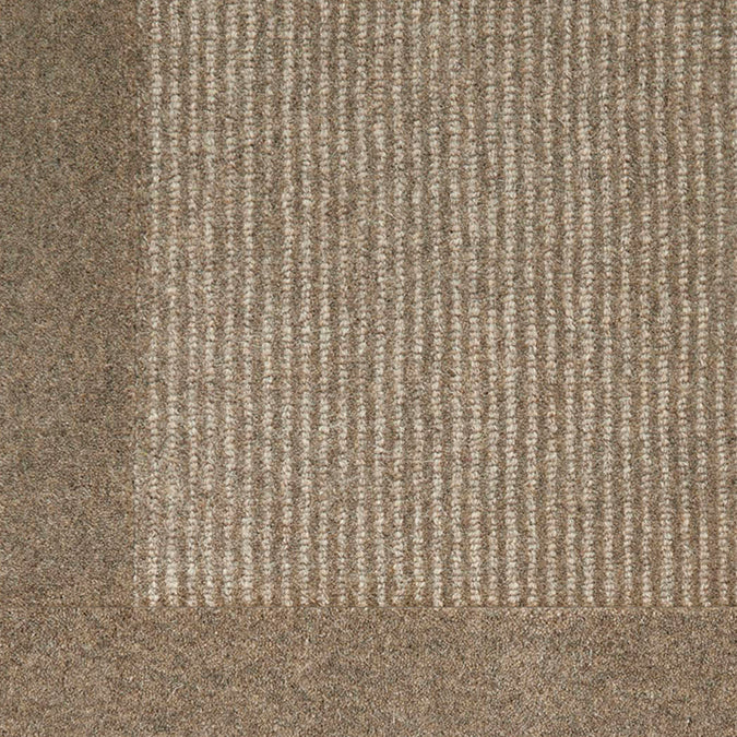 Gobi 100% Premium Wool Woven Custom Rug - Pebble *Ready To Ship Within Two Days Of Ordering*