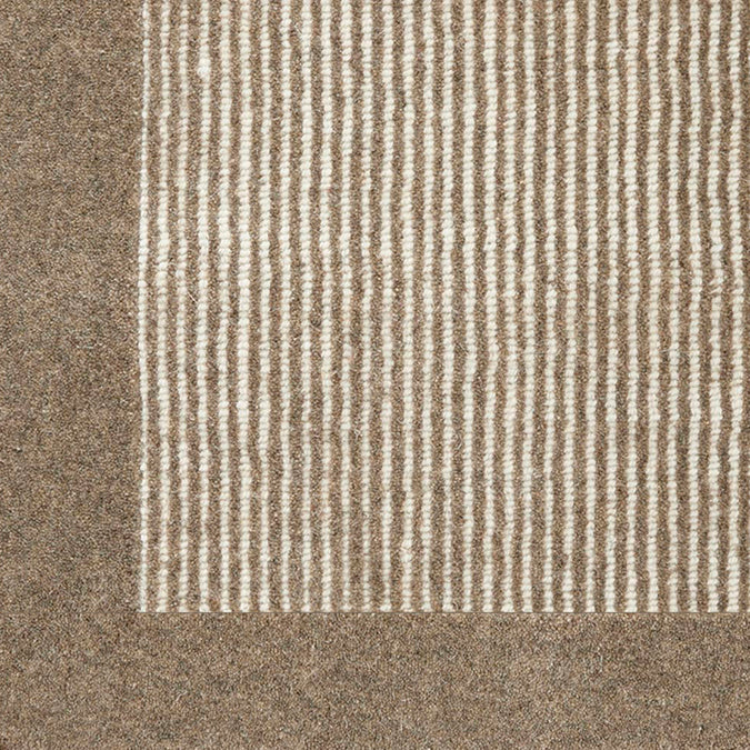 Gobi 100% Premium Wool Woven Custom Rug - Storm *Ready To Ship Within Two Days Of Ordering*