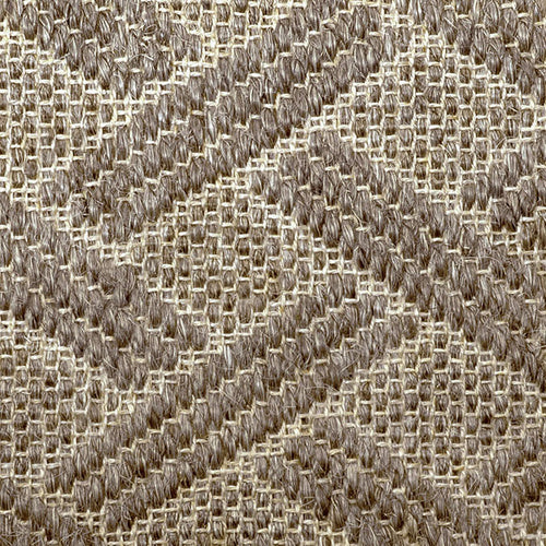 Fibreworks® Custom  100% Sisal Rug with Matching Serged Border or Other Border Options - Pathway Graphite Pearl 484