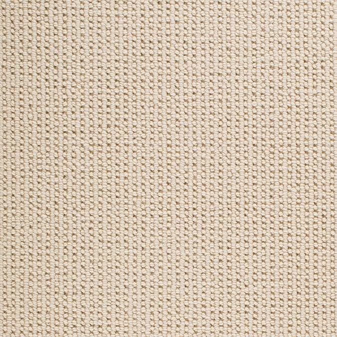 Sequence 100% New Zealand Wool Woven Custom Rug - Ivory Fresco Cream