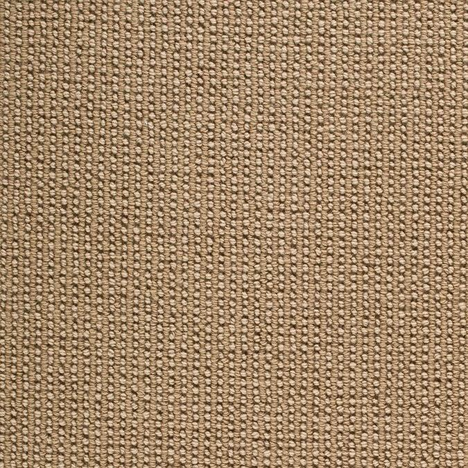 Sequence 100% New Zealand Wool Woven Custom Rug - Creme Cobblestone