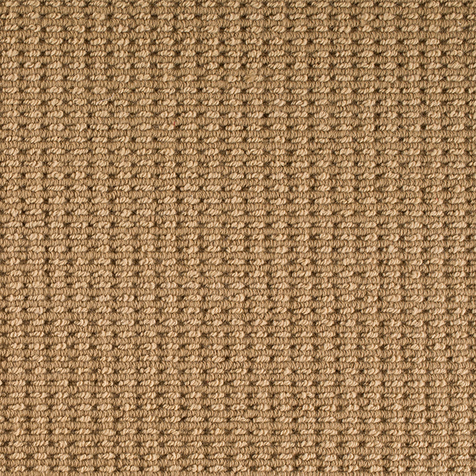 Noble Woven Wool Custom Rug - Toffee