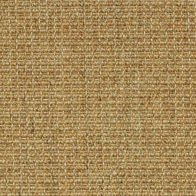 Fibreworks® Custom  100% Sisal Rug with Matching Serged Border or Other Border Options - Paradise Retreat Jumbo Boucle 711