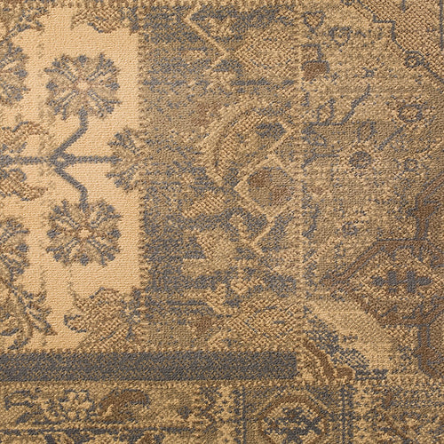 Antiquity Woven Custom Rug -Beige/Grey Orient