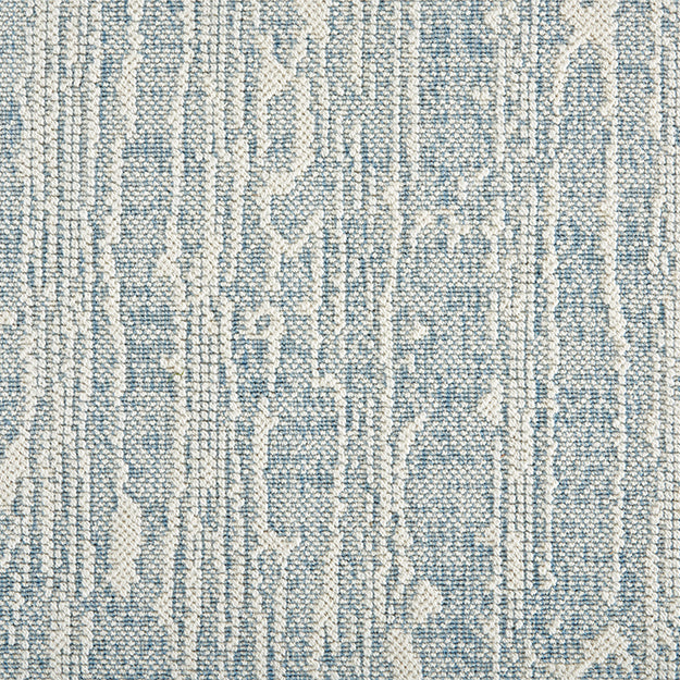 Morris Premium Wool Blend Custom Rug - Powder Blue