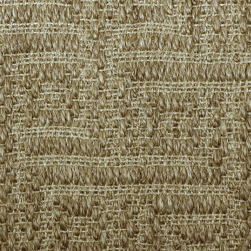 Fibreworks® Custom  100% Sisal Rug with Matching Serged Border or Other Border Options - Studio Key Oat Straw 4639