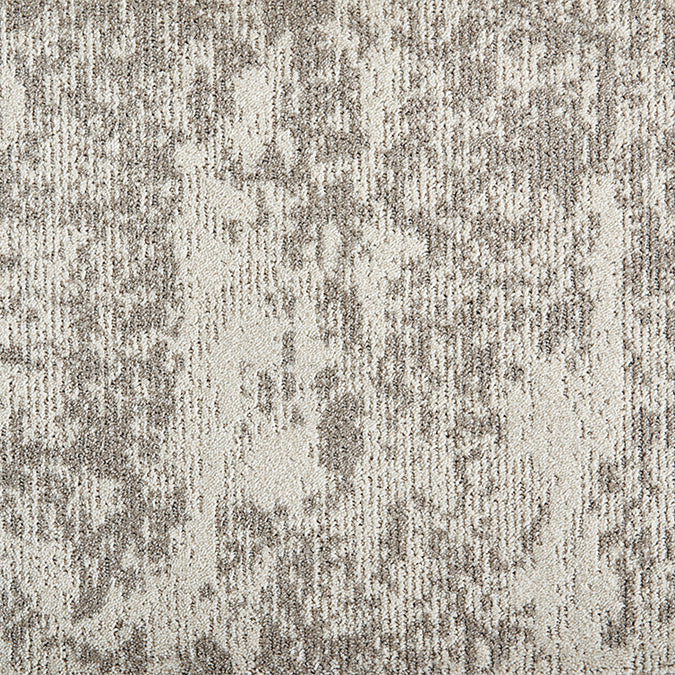 Orbital Tufted Custom Rug - Oyster Grey