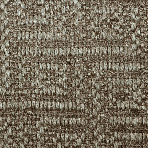 Fibreworks® Custom  100% Sisal Rug with Matching Serged Border or Other Border Options - Studio Key Silvered Grey 4633