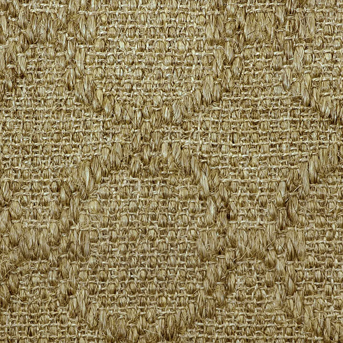 Fibreworks® Custom 100% Sisal Rug with Matching Serged Border or Other Border Options- Zodiac Sandstone 4611