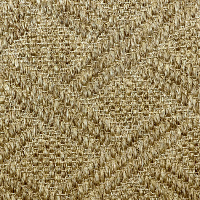 Fibreworks® Custom  100% Sisal Rug with Matching Serged Border or Other Border Options - Pathway Sandstone 481