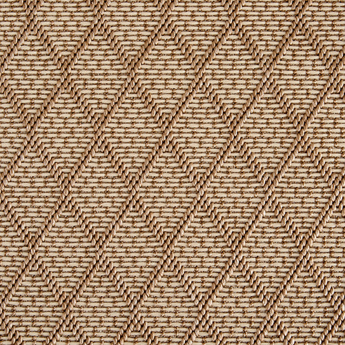 High-Performance All Weather Indoor/Outdoor Custom Rug with UV Resistant Standard Edge Finish - St Barts Dune