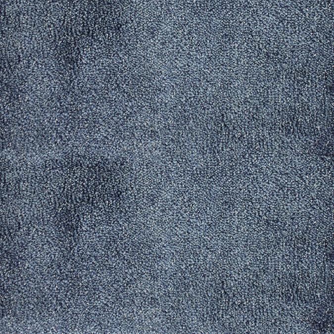 Starry Night Woven Custom Rug - Midnight Blue